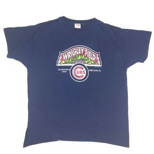 Vintage 90s Wrigley Field Chicago Cubs Shirt